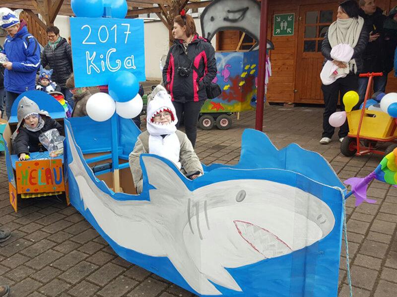 Kindergarten Unterwasser Wakage Wargolshauser Karnevals Gesellschaft